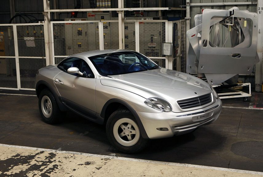 Un prototipo Heuliez Intruder se pone a la venta, ¿tienes 193.995 euros?