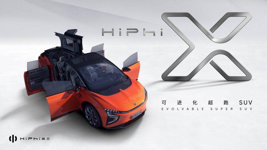 Human Horizon HiPhi X, una nueva propuesta eléctrica que llega desde China