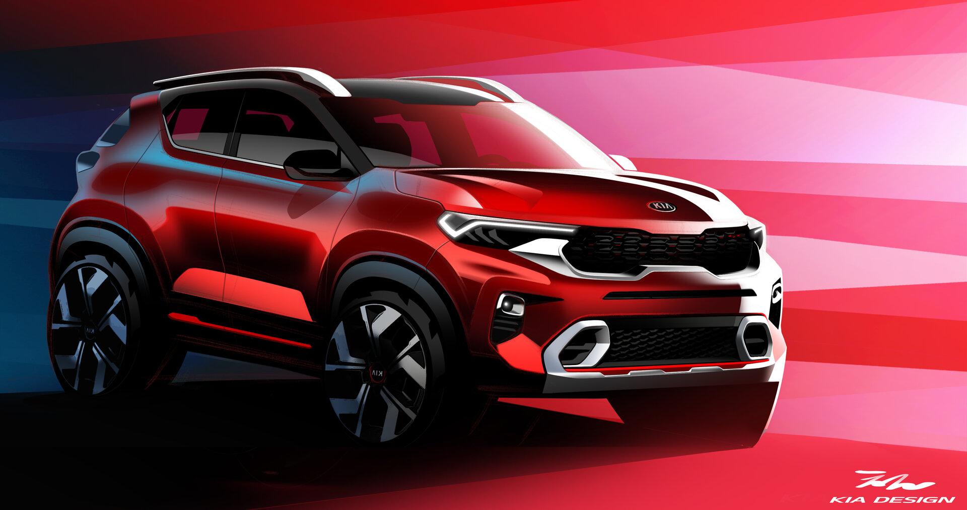 Kia revela nuevos detalles del Kia Sonet, su nuevo SUV