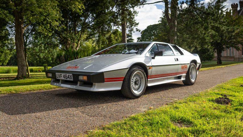 Lotus estrena su nuevo Certificado de Procedencia con el Esprit Turbo de Colin Chapman