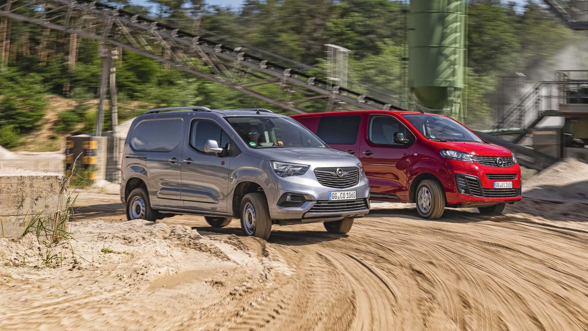 Los Opel Combo Cargo y Vivaro ya tienen sistema de tracción total