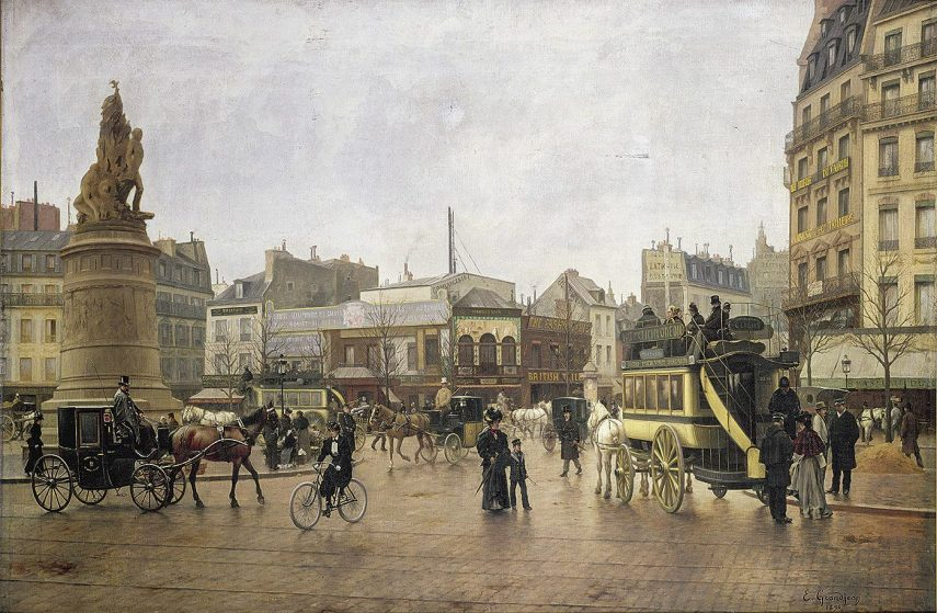 Place Clichy 1896