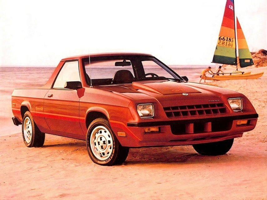 Coche del día: Dodge Rampage/Plymouth Scamp