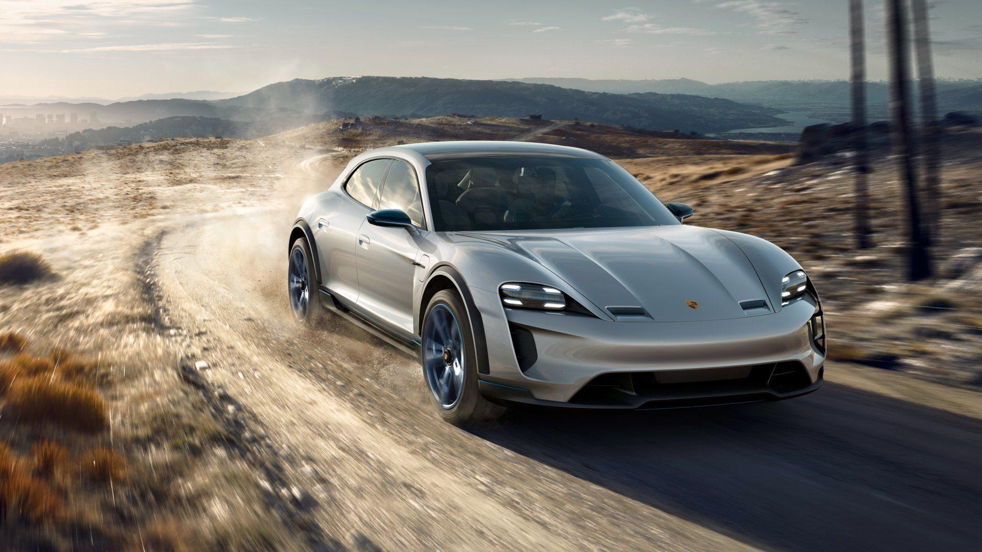 El Porsche Taycan Cross Turismo se retrasa hasta 2021