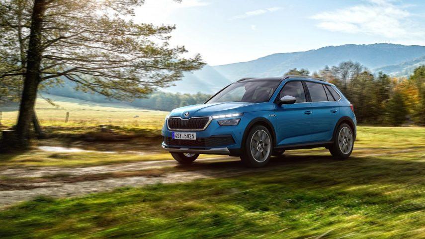Nuevo Škoda Kamiq Scout, desde 24.660 euros