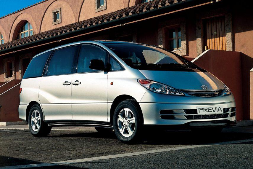 Coche del día: Toyota Previa (XR30/XR40)