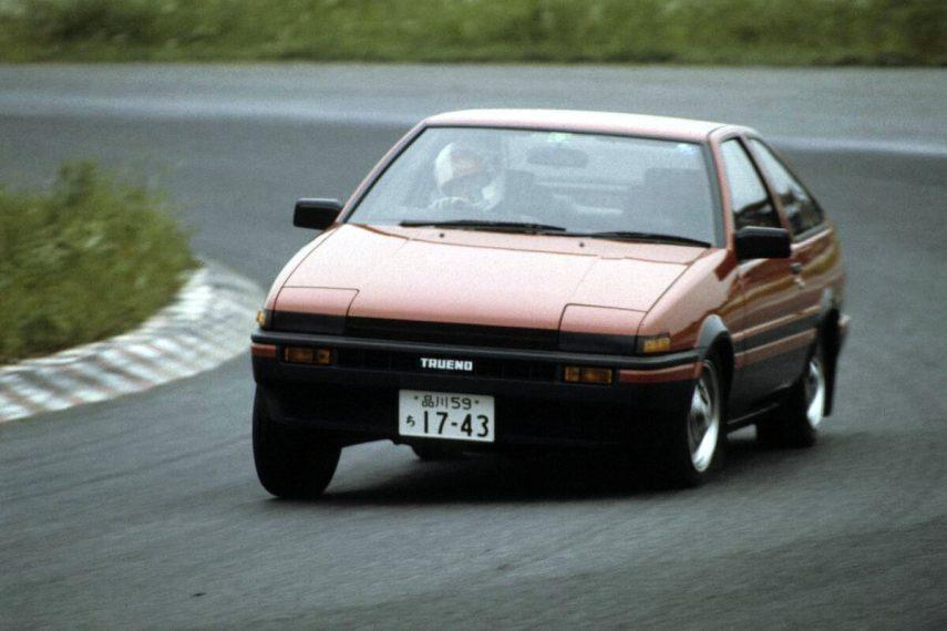 Coche del día: Toyota Corolla Levin/Sprinter Trueno (AE86)