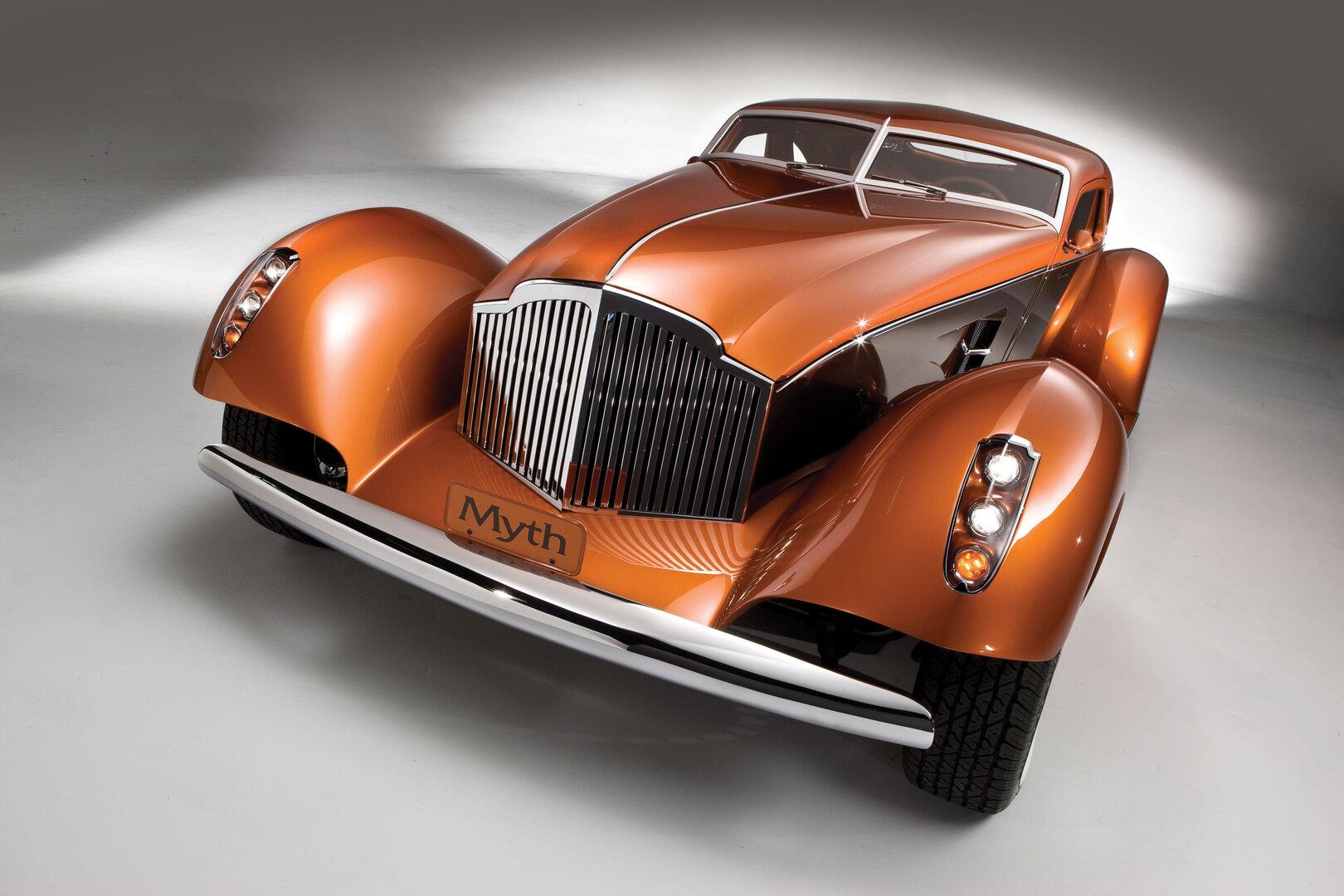 "Coche del día: Packard ""Myth"" Custom Boattail Coupe"