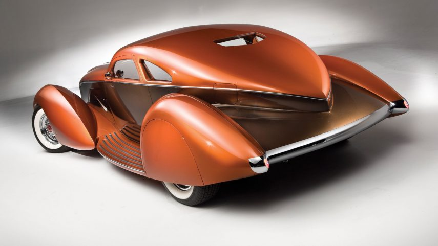 1934 Packard Myth Custom Boattail Coupe 2