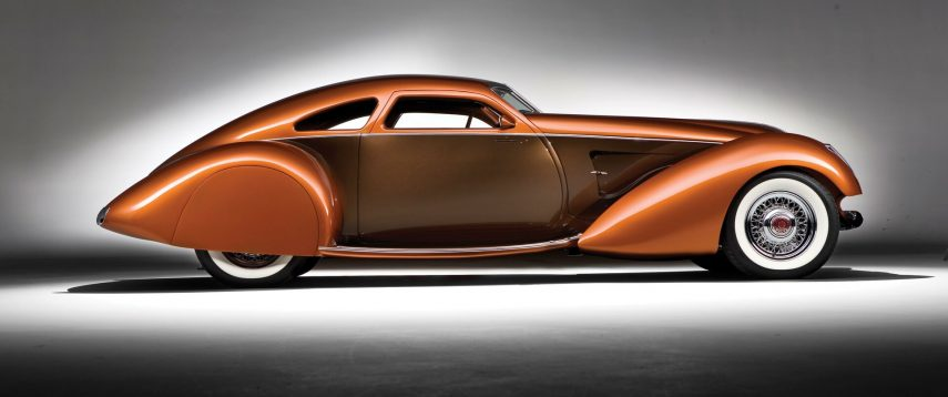 1934 Packard Myth Custom Boattail Coupe 3