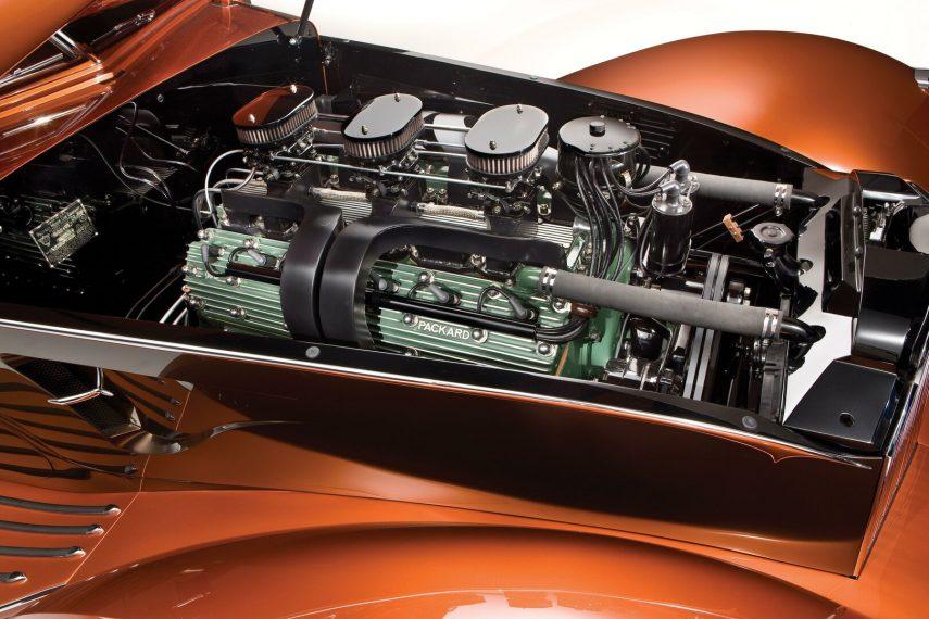 1934 Packard Myth Custom Boattail Coupe 4