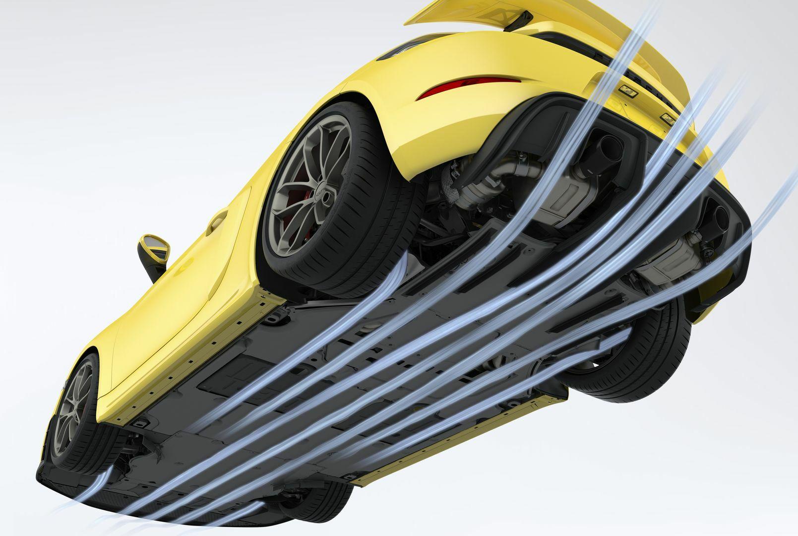 20 Porsche 718 aero down