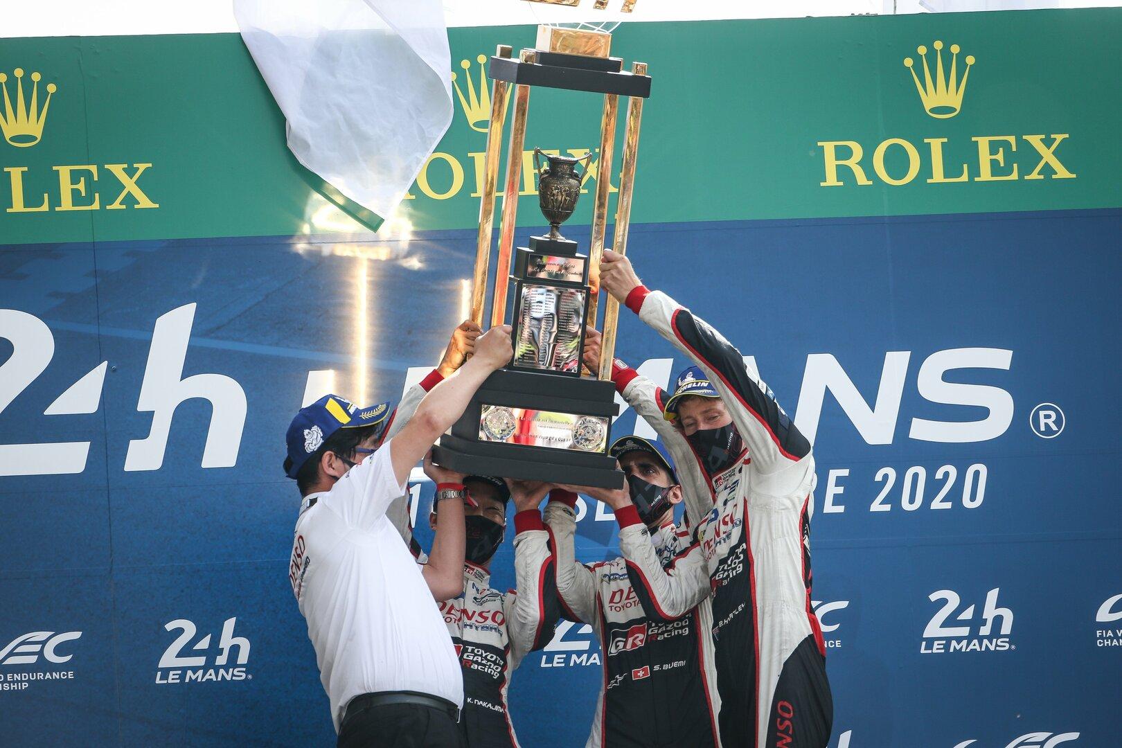 Toyota suma y sigue en las 24 horas de Le Mans 2020