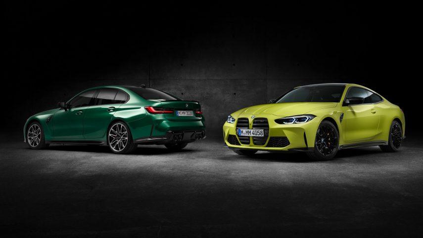 BMW M3 y BMW M4 Competition 2021 (10)