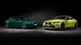 BMW M3 y BMW M4 Competition 2021 (8)