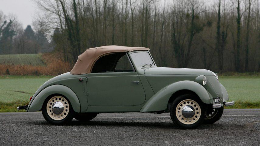 CGE Type TB Cabriolet Tudor verde 1