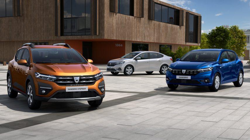 Dacia desvela los Sandero y Logan de tercera generación