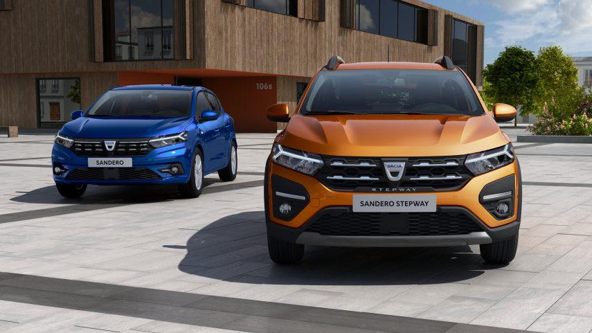 Dacia Sandero Sandero Stepway 2021 2
