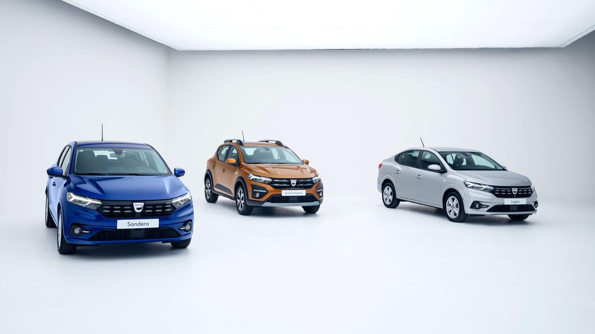 Llegan los Dacia Sandero, Sandero Stepway y Logan 2021