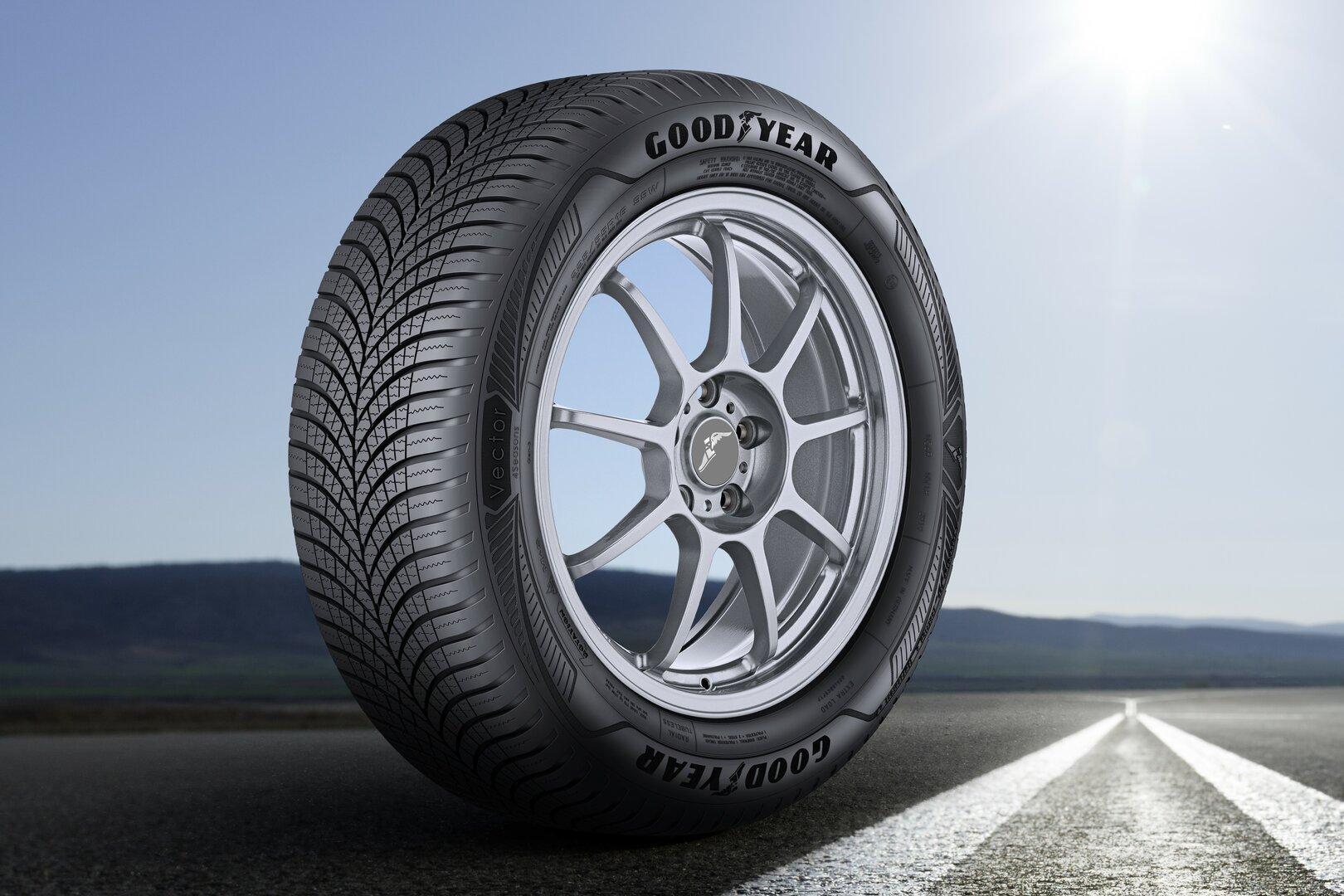 Goodyear lanza el nuevo Vector 4Seasons Gen 3