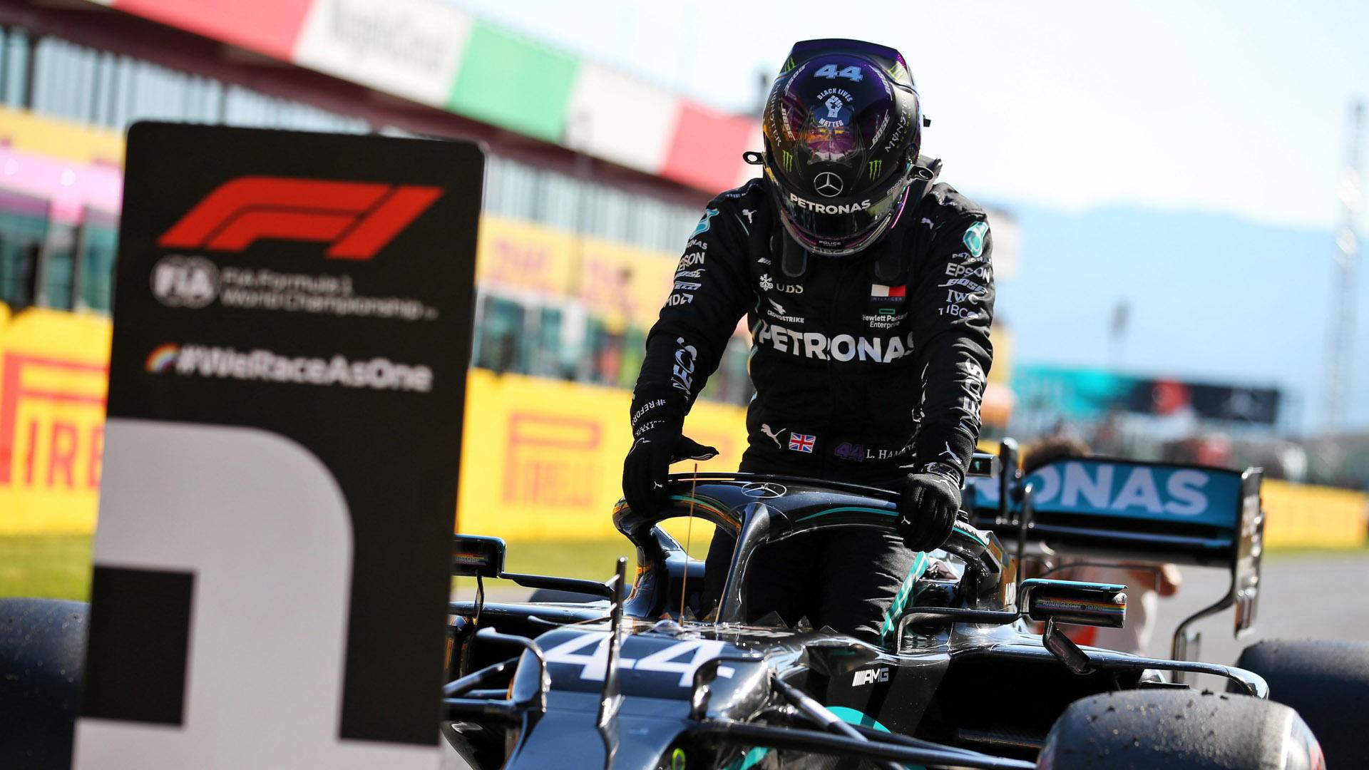 Lewis Hamilton consigue la pole en el Gran Premio de la Toscana