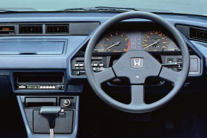 Honda Ballade Sports CR X 1985 interior