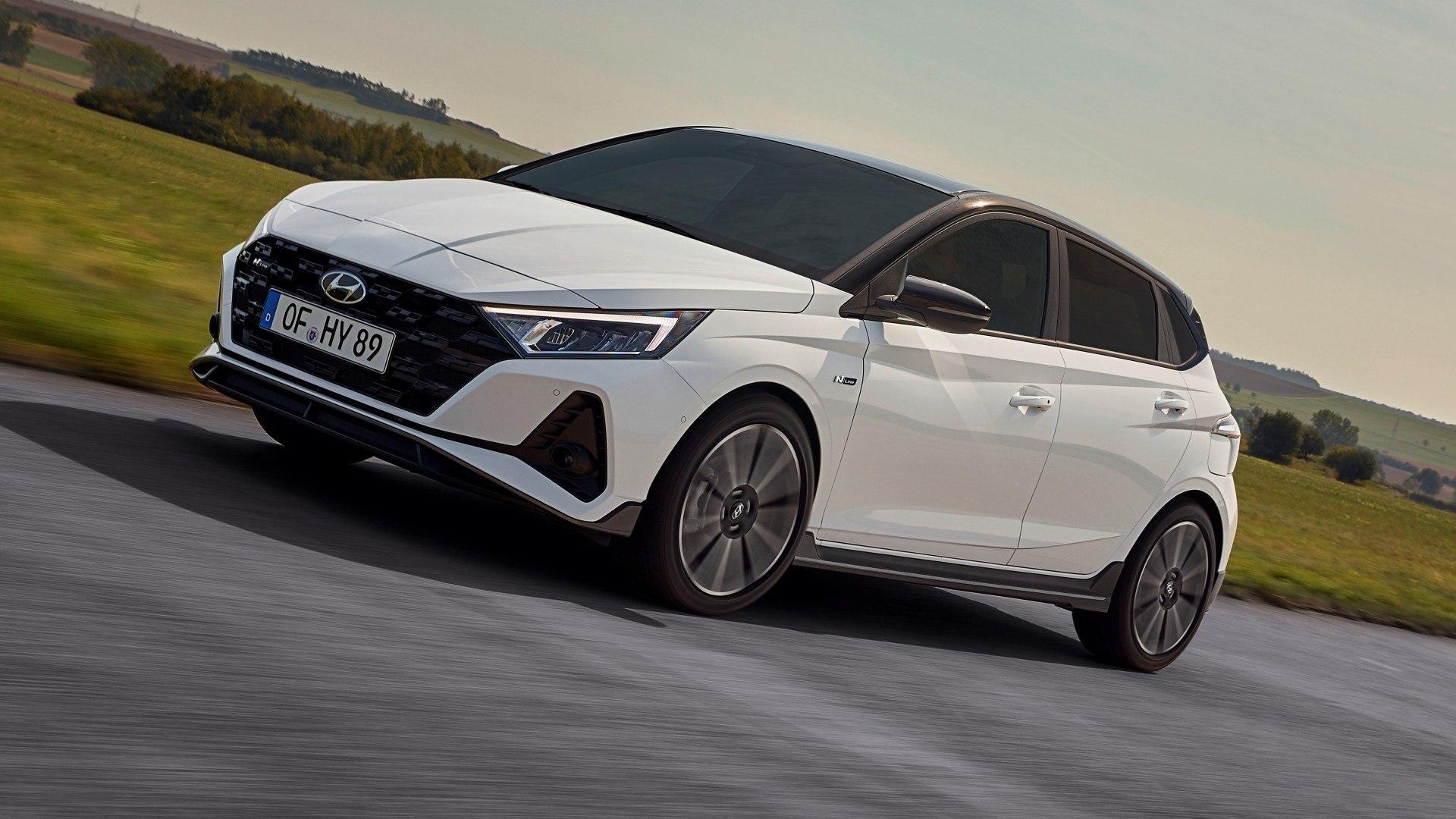 Hyundai i20 N Line, buscando ofrecer un aspecto deportivo