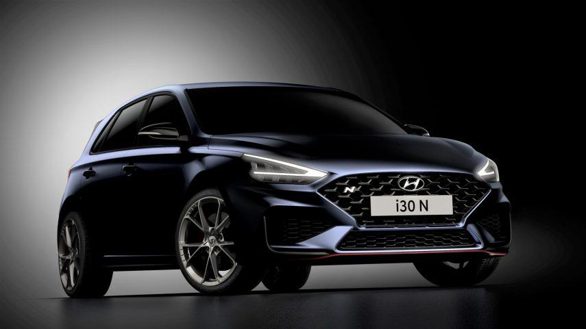 Hyundai i30 N 2021, aquí están las primeras imágenes