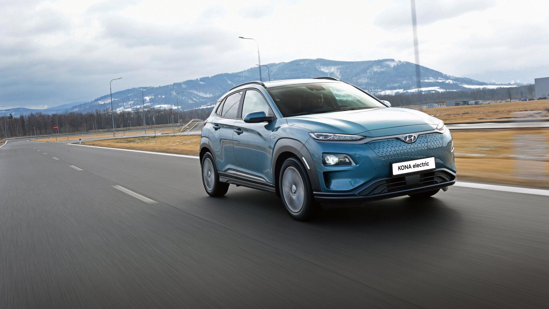 Hyundai redescubre la rueda con el Kona EV para ir más lejos