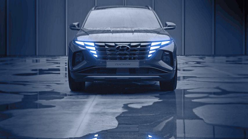 El nuevo Hyundai Tucson se deja ver tímidamente