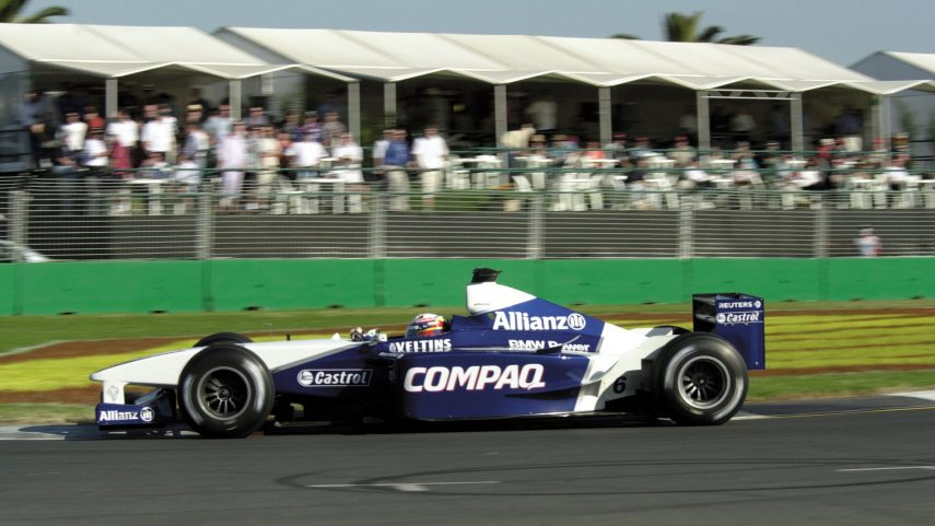 Juan Pablo Montoya BMW Williams FW23 2001