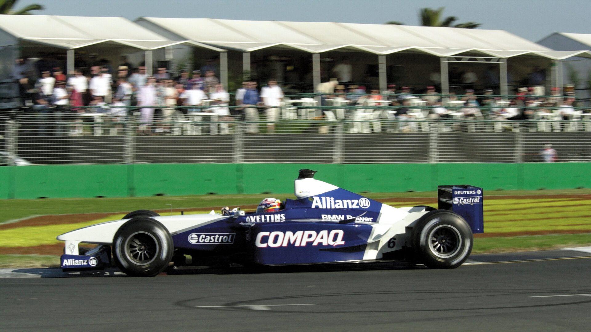 Juan Pablo Montoya BMW Williams FW23 2001