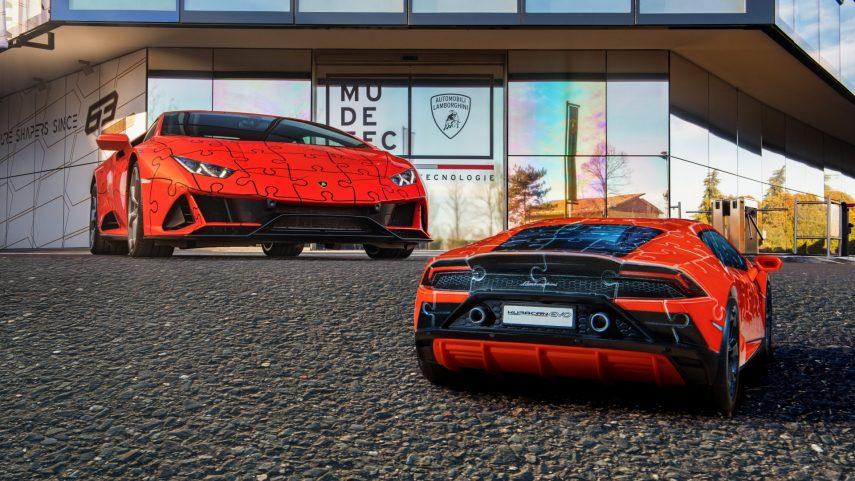 Lamborghini y Ravensburger presentan su puzle tridimensional del Huracán EVO