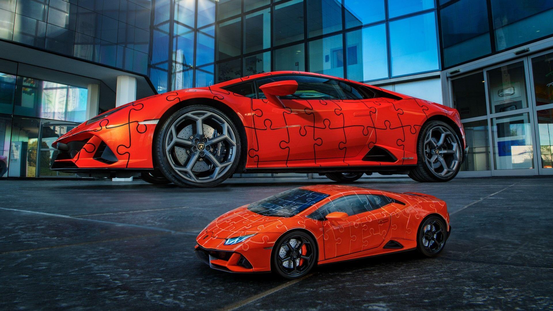 Lamborghini Huracan EVO Ravensburger Puzle 3D (3)