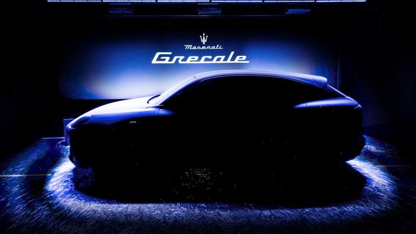 Maserati Grecale, un nuevo SUV basado en la plataforma Giorgio