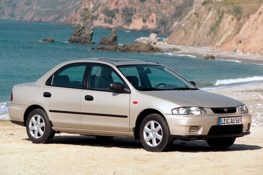 Coche del día: Mazda 323 S 2.0 D (BH)
