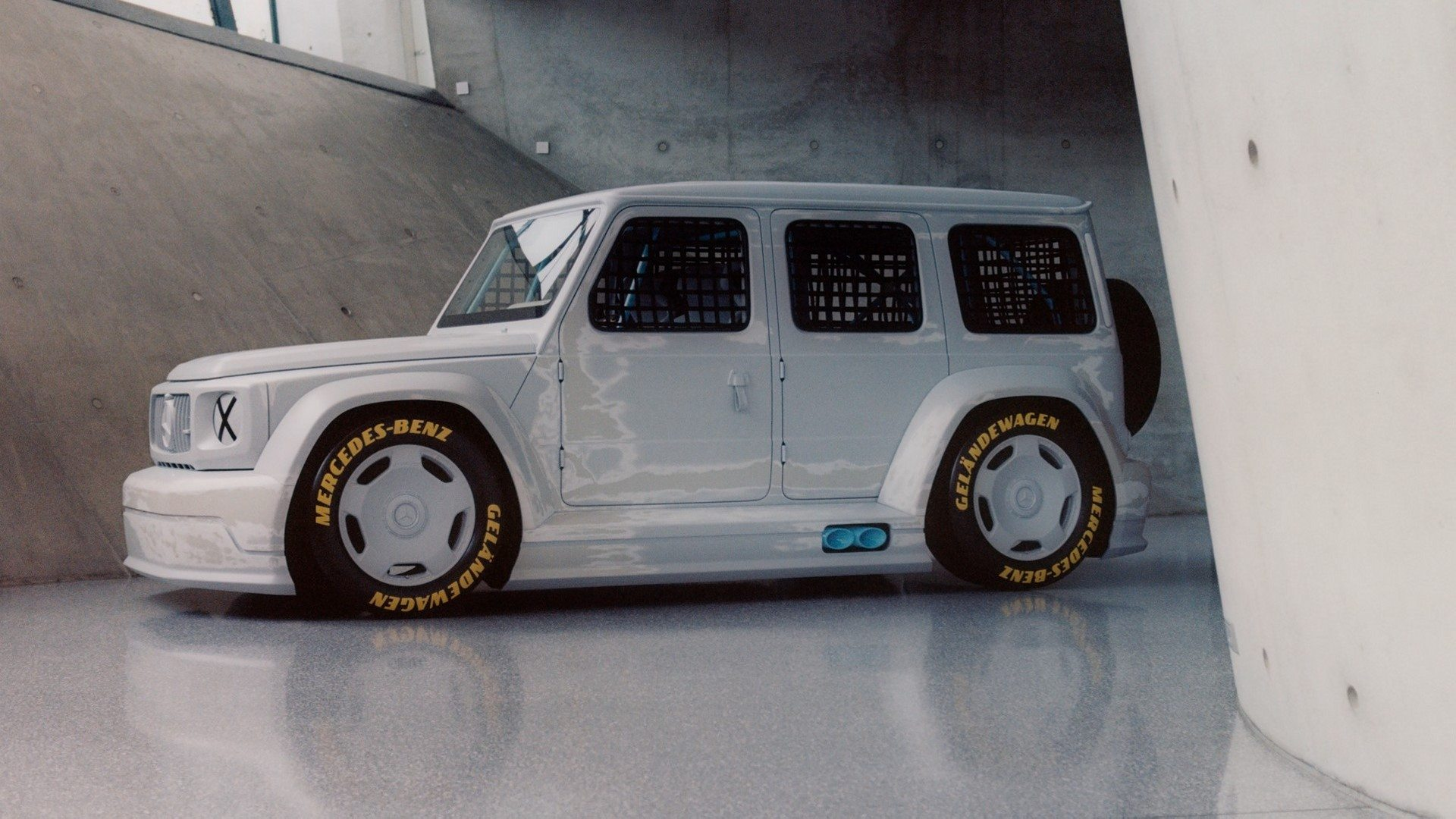 Mercedes-Benz Project Geländewagen, con la moda y la competición como inspiración