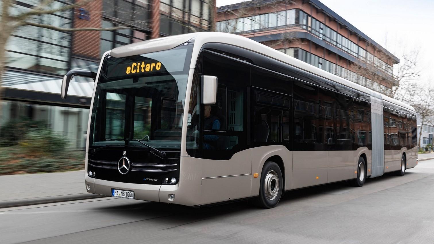 Mercedes-Benz eCitaro G, el primer vehículo de producción con baterías en estado sólido