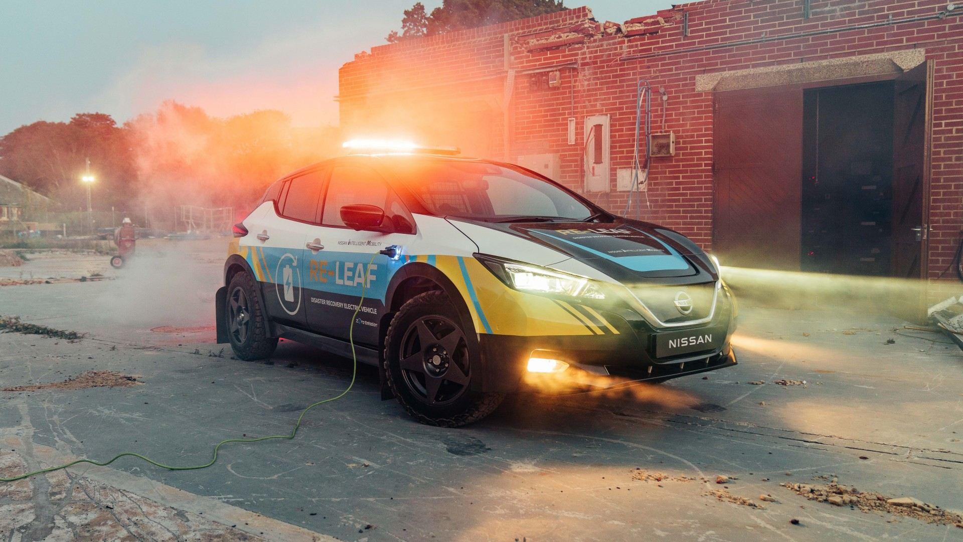 Nissan RE-Leaf, un prototipo capaz de suministrar energía en tiempos de desastre