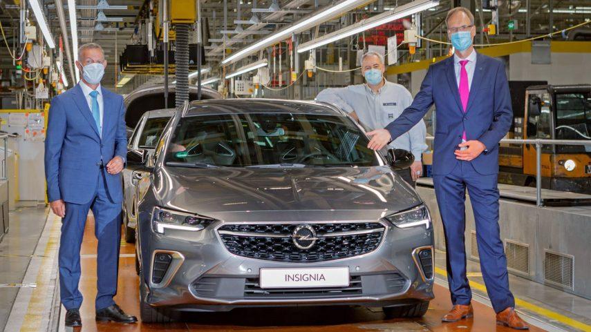 El Opel Insignia ya se fabrica en la planta de Rüsselsheim