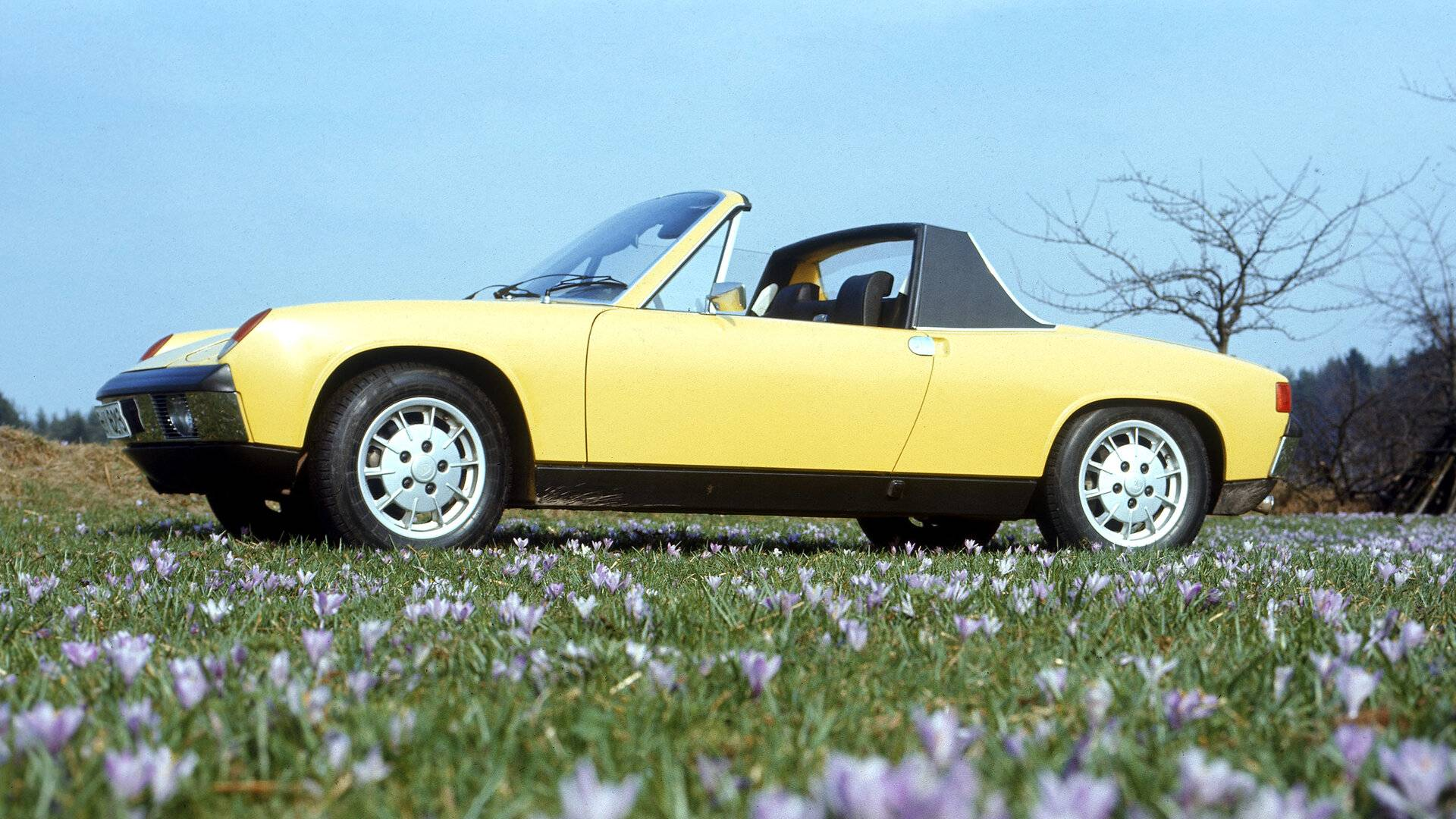 Coche del día: Porsche 914