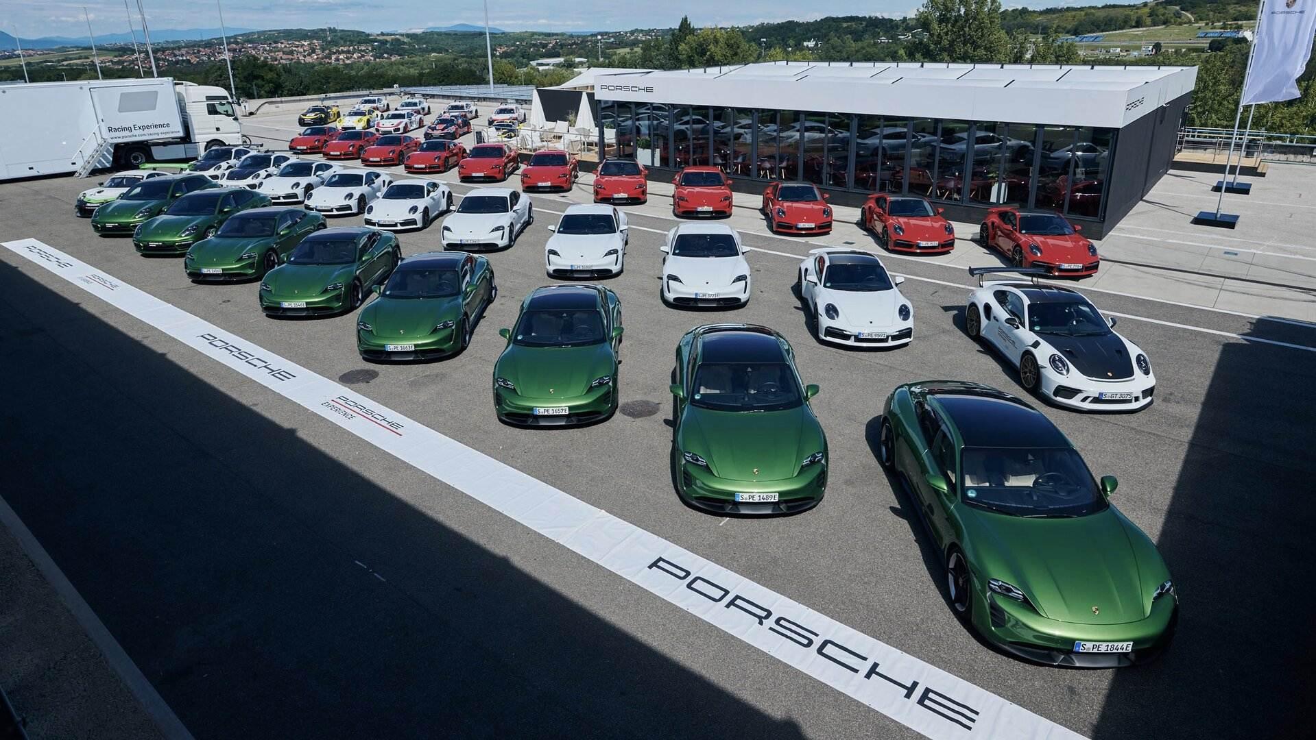 Porsche turbo charging 4