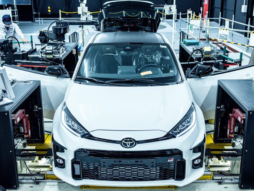 Produccion Toyota GR Yaris 5