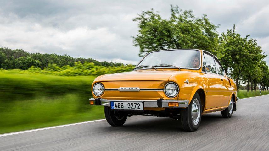 Coche del día: Škoda 110 R