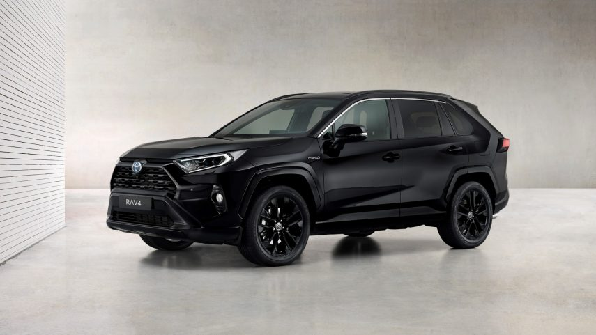 """Toyota RAV4 Electric Hybrid 2021: ahora con versión """"Black Edition"""""""