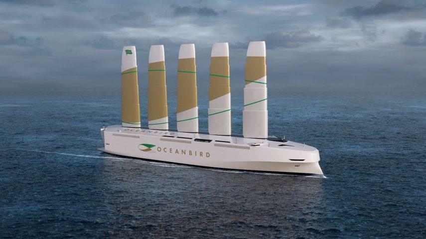 Wallenius Oceanbird, el futuro de los barcos para transporte de coches