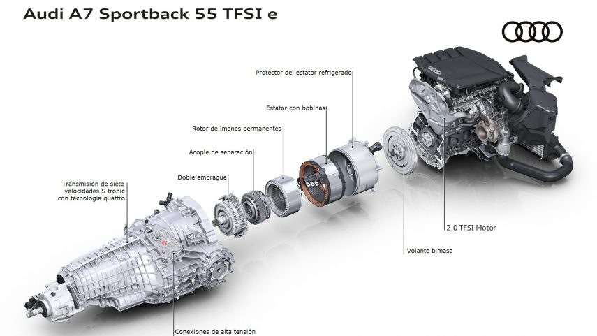 02 Motor Audi A7 55 TFSIe