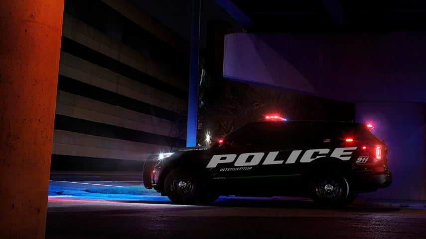 2020 Ford Police Interceptor Utility 4