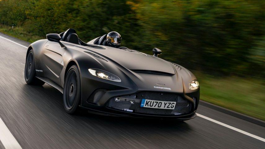 El Aston Martin V12 Speedster ya está en fase de pruebas