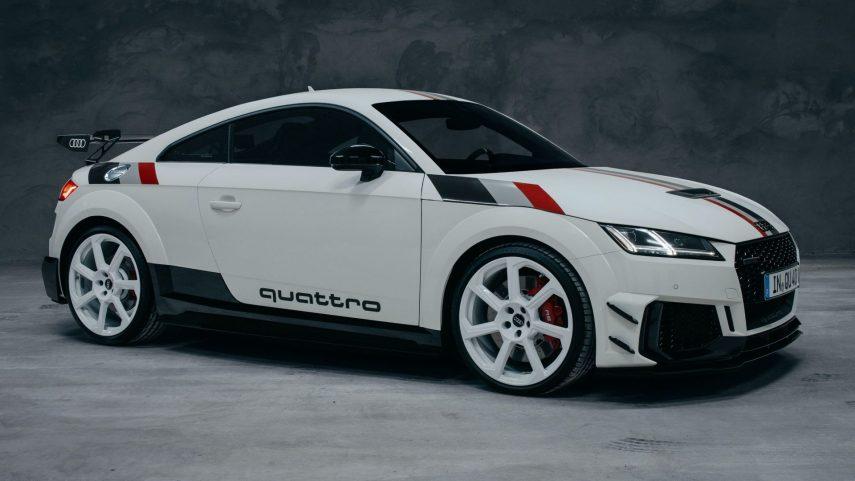 """Audi TT RS """"40 years of quattro"""", una edición limitada a 40 unidades"""